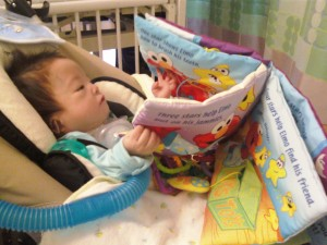 Early literacy experience for an infant with CHARGE Syndrome.