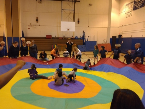 NYDBC Holiday Event Parachute